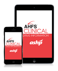 Ahfs Drug Information Book